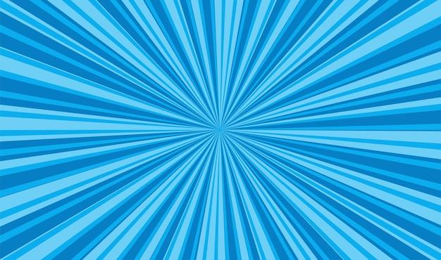 Fondo de arte pop. textura azul de dibujos animados. ilustración vectorial.