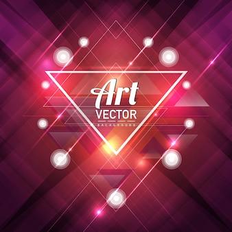 Fondo de arte vectorial