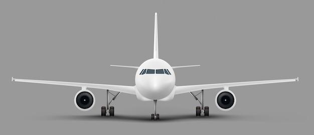 Fondo con avión aislado