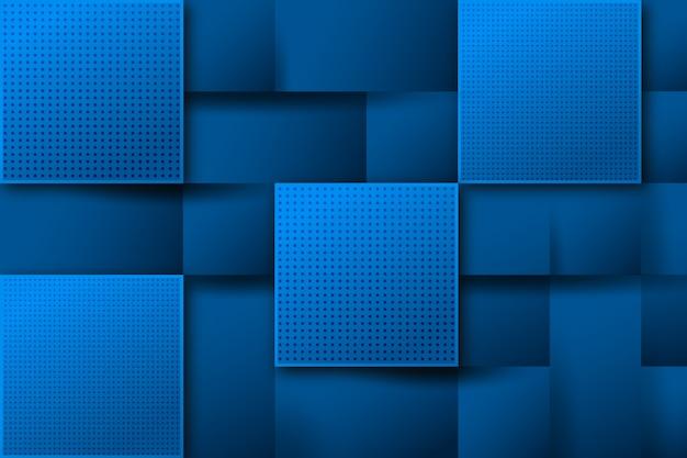 Fondo azul abstracto cuadrado moderno