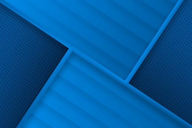 Fondo azul abstracto geométrico moderno