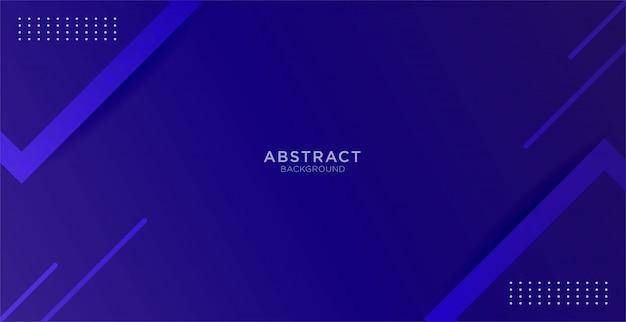 Fondo azul abstracto con mínimo geométrico y forma