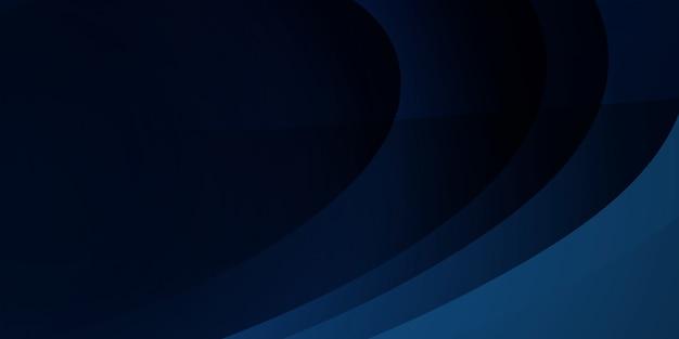 Fondo azul abstracto ondulado.