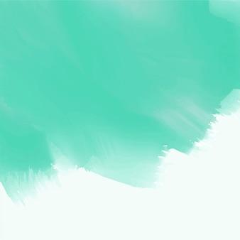 Fondo azul abstracto de la textura de la acuarela