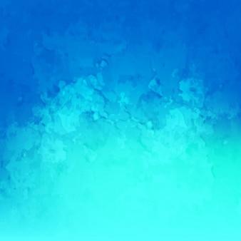 Fondo azul de acuarela