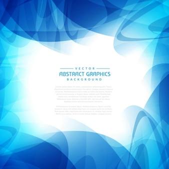 Fondo azul brillante abstracto