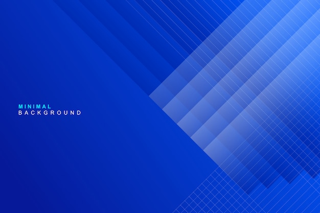 Fondo azul colorido abstracto