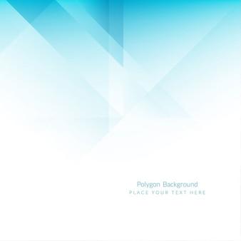 Fondo azul de polígonos
