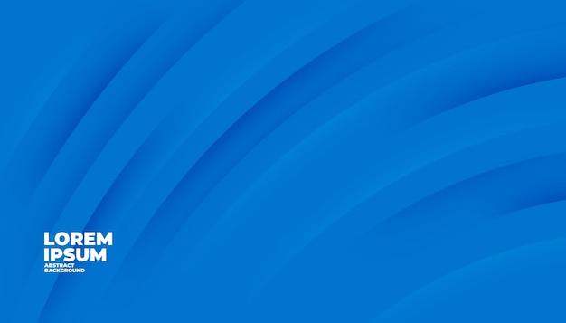 Fondo azul formas modernas