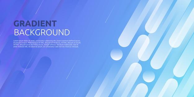 Fondo azul geométrico