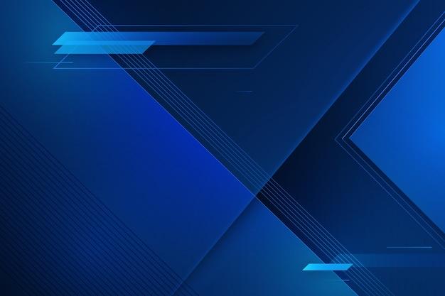Fondo azul glitched futurista con espacio de copia