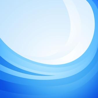 Fondo azul de la onda
