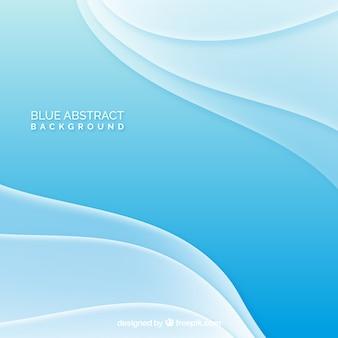 Fondo azul de ondas