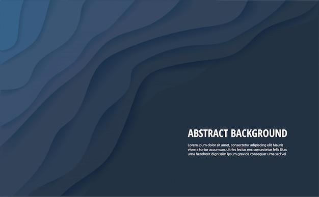 Fondo azul oscuro abstracto