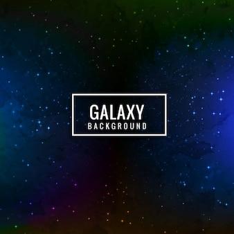 Fondo azul oscuro de galaxia