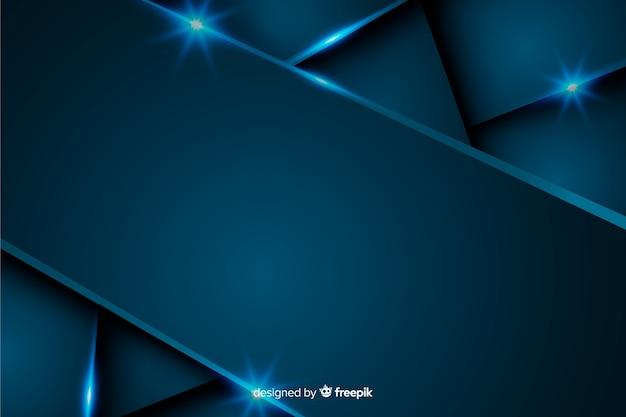 Fondo azul oscuro metálico abstracto