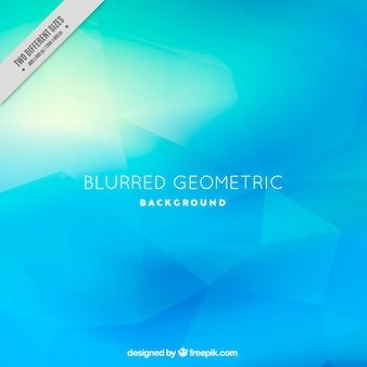 Fondo azul poligonal brillante