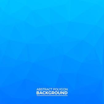 Fondo azul del polígono