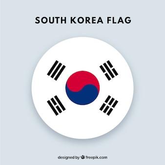 Fondo de bandera de corea del sur