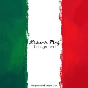 Fondo de bandera de méxico
