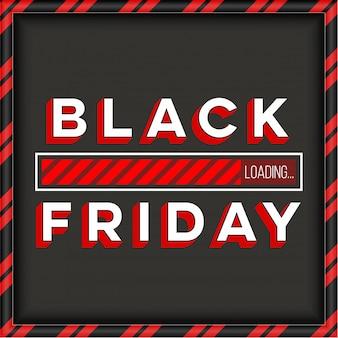 Fondo de banner de venta de oferta especial de viernes negro.