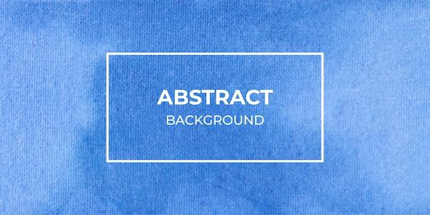 Fondo de banner web acuarela abstracta azul