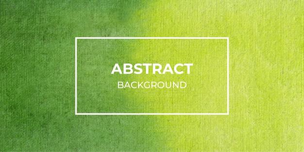 Fondo de banner web acuarela verde abstracto