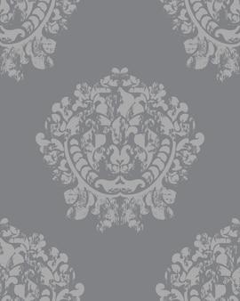 Fondo barroco vintage textura de lujo. decoración elegante