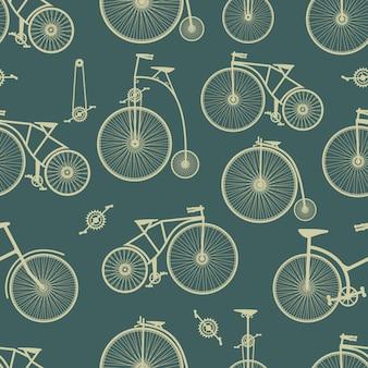 Fondo de bicicleta sin costuras