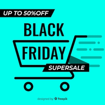 Fondo black friday fluorescente