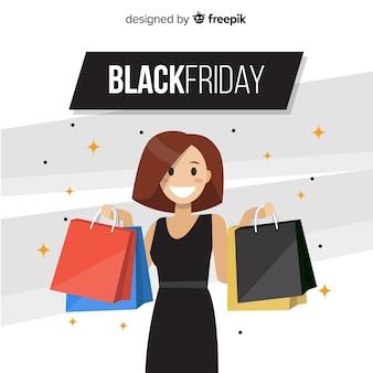 Fondo de black friday