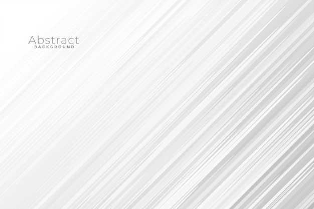 Fondo blanco abstracto con líneas rápidas