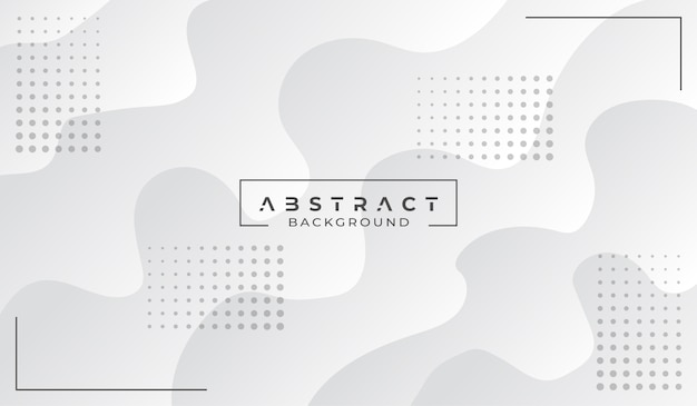 Fondo blanco abstracto moderno