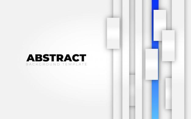 Fondo blanco azul abstracto