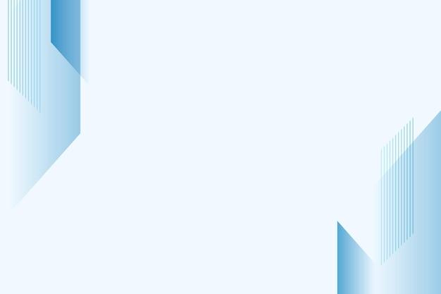 Fondo en blanco degradado azul para negocios