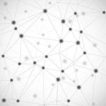 Fondo blanco con enlaces tecnológicos