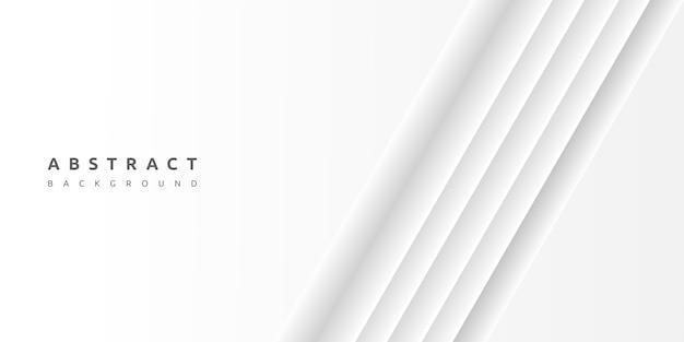 Fondo blanco con espacio en blanco de rayas de capas de papel