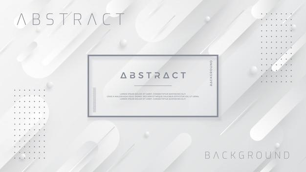 Fondo blanco y gris abstracto.