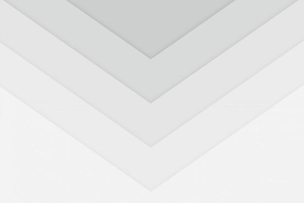 Fondo blanco limpio del estilo de la flecha del cubilete