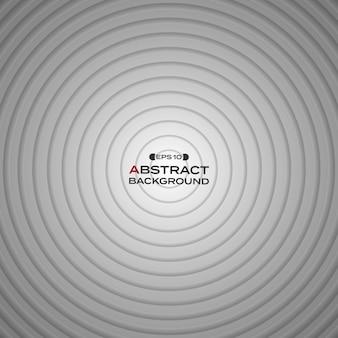 Fondo blanco negro abstracto del círculo del gradiente.