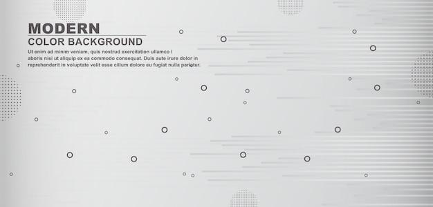 Fondo blanco oscuro formas geométricas