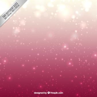 Fondo bokeh brillante en tonos rosas