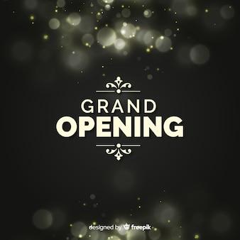 Fondo bokeh gran apertura