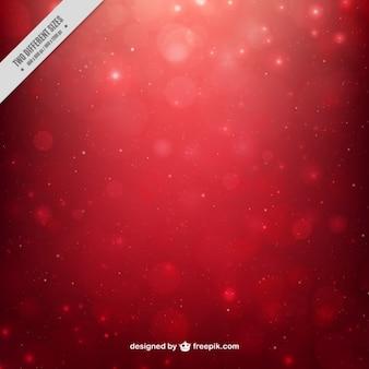 Fondo bokeh rojo abstracto