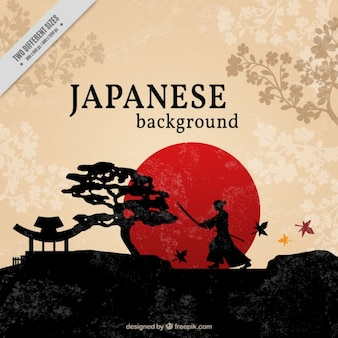 Fondo bonito japonés
