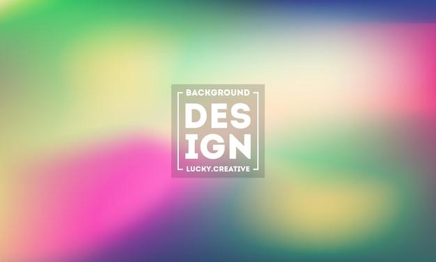 Fondo borroso abstracto de la malla del gradiente en colores modernos brillantes.