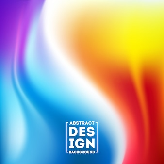 Fondo borroso abstracto de la malla del gradiente en liso colorido brillante