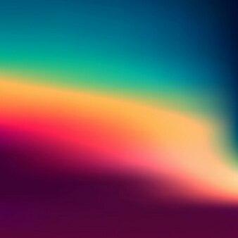 Fondo borroso de colores de atardecer