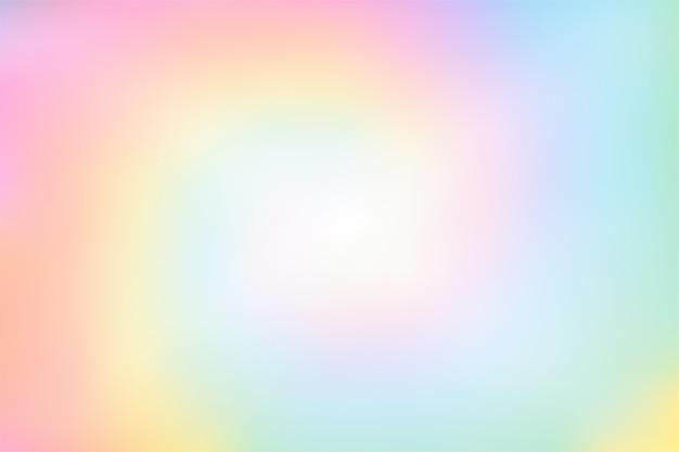Fondo borroso colorido en colores pastel del arco iris abstracto