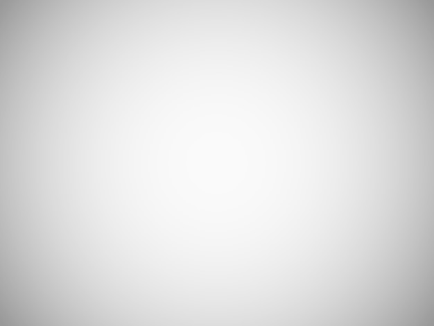 Fondo borroso gris claro en blanco con degradado radial